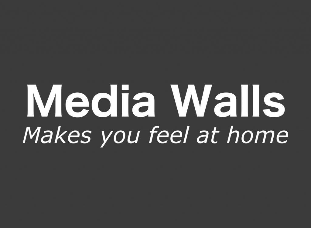 Logo Media Walls dunkel